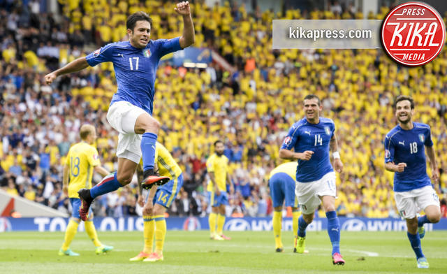 Eder - Tolosa - 17-06-2016 - Euro 2016: Italia-Svezia, Eder regala la qualificazione