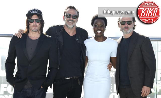 Danai Gurira, Jeffrey Dean Morgan, Norman Reedus - San Diego - 22-07-2016 - The Walking Dead: Hey voi, avete visto qualche zombie?
