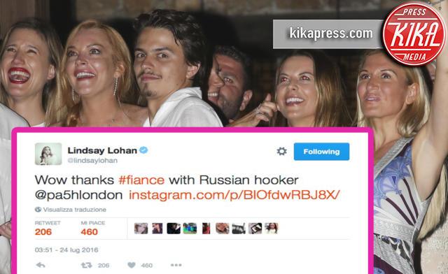Egor Tarabasov, Lindsay Lohan - Mykonos - 02-07-2016 - Linday Lohan ed Egor, tradimento e poi aggressione?