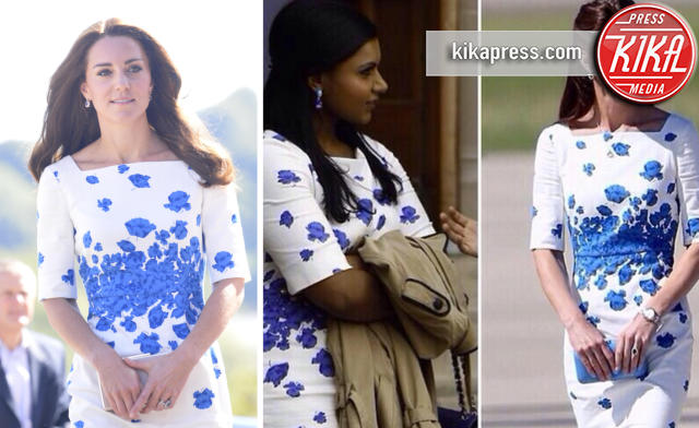 Kate Middleton, Mindy Kaling - 29-08-2016 - Chi lo indossa meglio? Kate Middleton e Mindy Kaling