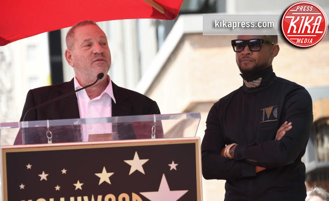 Usher, Harvey Weinstein - Hollywood - 07-09-2016 - Weinstein contro Argento:
