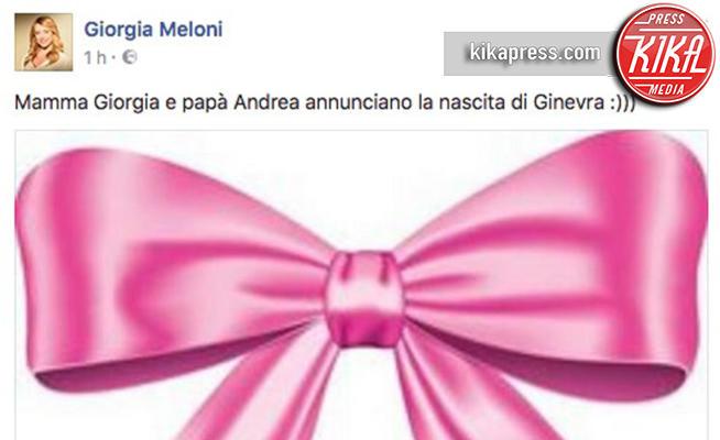 Giorgia Meloni-mamma-Ginevra