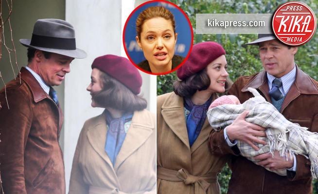 Marion Cotillard, Angelina Jolie, Brad Pitt - Londra - 20-09-2016 - Addio Brangelina: ecco la donna della discordia