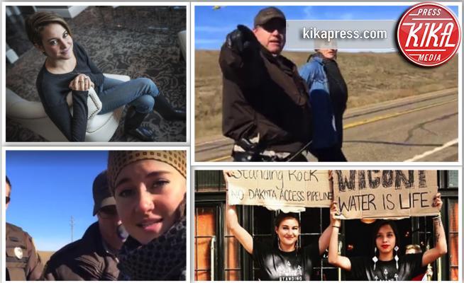 Shailene Woodley - Standing Rock - 10-10-2016 - Shailene Woodley rischia 60 giorni di carcere
