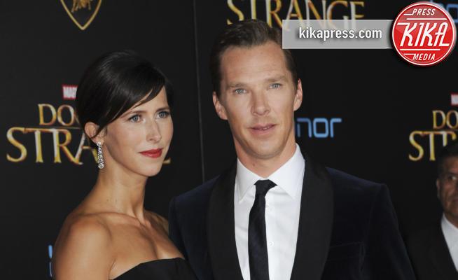 Sophie Hunter, Benedict Cumberbatch - Los Angeles - 21-10-2016 - Benedict Cumberbatch papà per la seconda volta