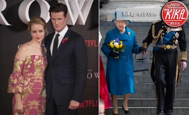 Claire Foy, Matt Smith, Re Filippo, Regina Elisabetta II - 01-11-2016 - The Crown, la Regina Elisabetta II come non l'avete mai vista