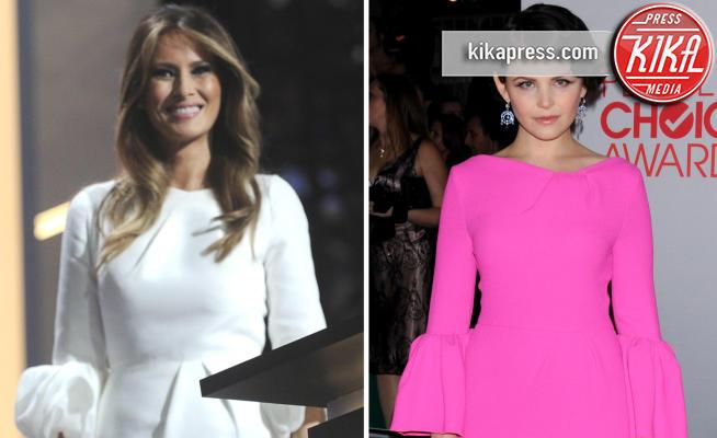Melania Trump, Ginnifer Goodwin - 14-11-2016 - Chi lo indossa meglio? Melania Trump e Ginnifer Goodwin