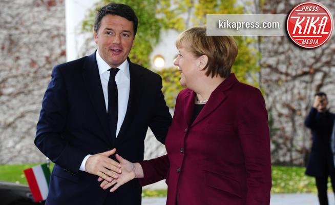 Angela Merkel - Berlino - 18-11-2016 - Vertice a Berlino: la Merkel si candida per il quarto mandato