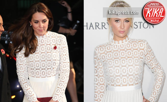 Kate Middleton, Paris Hilton - 28-11-2016 - Chi lo indossa meglio? Kate Middleton e Paris Hilton
