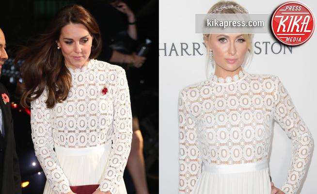 Kate Middleton, Paris Hilton - 28-11-2016 - Chi lo indossa meglio? Kate Middleton e Paris Hilton