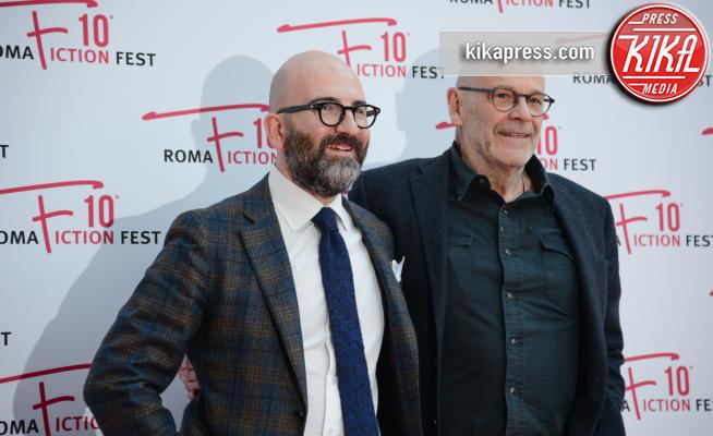 Donato Carrisi, John Simenon - Roma - 11-12-2016 - Roma Fiction Fest: John Simenon alla presentazione di Maigret