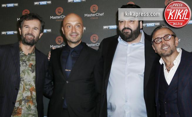 Antonino Cannavacciuolo, Bruno Barbieri, Carlo Cracco, Joe Bastianich - Milano - 20-12-2016 - Sesta edizione di Masterchef: la parola ai giudici!