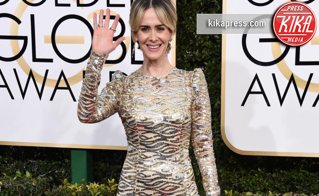 Sarah Paulson - Beverly Hills - 08-01-2017 - Sarah Paulson Migliore attrice in una miniserie o film tv