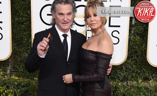 Goldie Hawn - Beverly Hills - 08-01-2017 - Golden Globe 2017: va in scena il gioco delle coppie