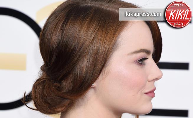 Emma Stone - Beverly Hills - 08-01-2017 - Golden Globe 2017, non solo abiti: ecco le acconciature!