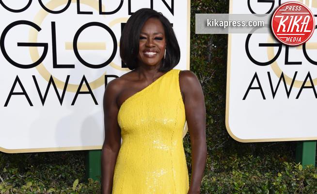 Viola Davis - Beverly Hills - 08-01-2017 - Golden Globe 2017: tripudio di colori sul red carpet!