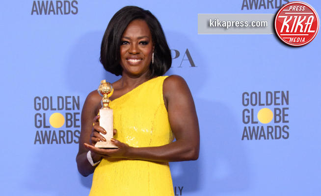 Viola Davis - Los Angeles - 08-01-2017 - Golden Globe: è il trionfo di La La Land e del black power