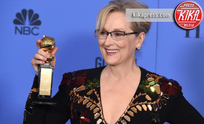 Meryl Streep - Beverly Hills - 08-01-2017 - Golden Globe: le curiosità che forse non sapevate