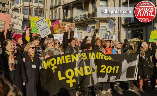 Women's March Londra, Guest - Londra - 21-01-2017 - Women's March: non solo Stati Uniti, dilaga anche in Europa!