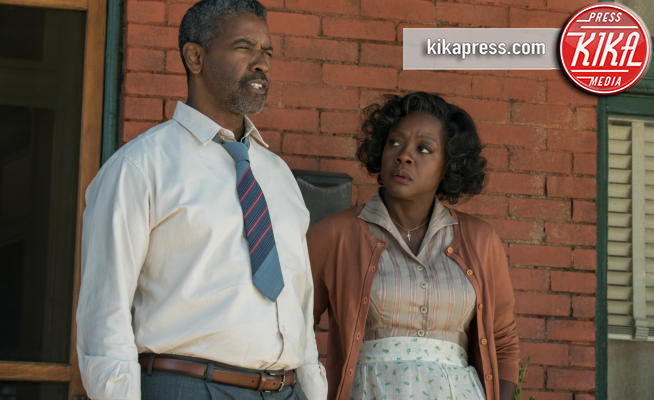Fences, Viola Davis, Denzel Washington - Hollywood - 28-01-2017 - Oscar 2017: Viola Davis Migliore attrice non protagonista