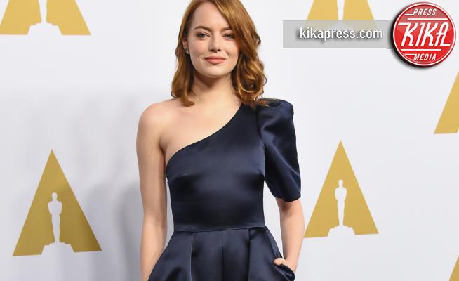 Emma Stone - Beverly Hills - 07-02-2017 - Oscar Luncheon 2017: spicca l'assenza di Asghar Farhadi