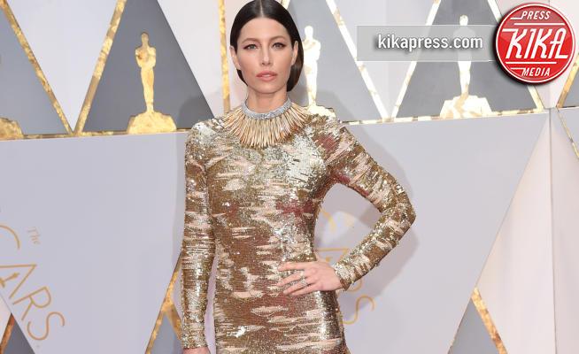 Jessica Biel - Hollywood - 26-02-2017 - Oscar 2017: le dive 'metalliche' della kermesse
