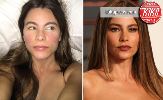 Sofia Vergara - Los Angeles - 13-04-2017 - Sexy anche senza un filo di trucco? Giudicate voi