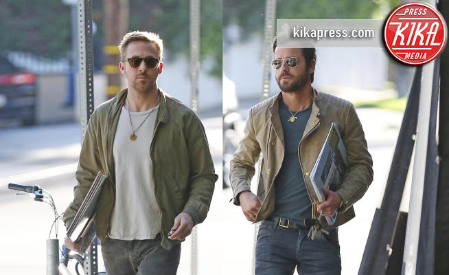 Ryan Gosling, Justin Theroux - Los Angeles - 20-04-2017 - Ryan Gosling - Justin Theroux: il pranzo dei sex symbol