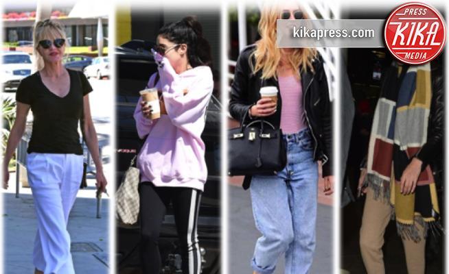 Gigi Hadid, Chiara Ferragni, Vanessa Hudgens, Melanie Griffith - 03-05-2017 - Chiara Ferragni e Gigi Hadid cercano il pelo... nelle pantofole!