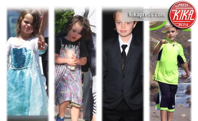 Noah Green, Bodhi Ransom Green, Shiloh Jolie Pitt, Kingston Rossdale - 04-05-2017 - Da Noah Green a Shiloh Nouvel: i bambini no gender dello showbiz