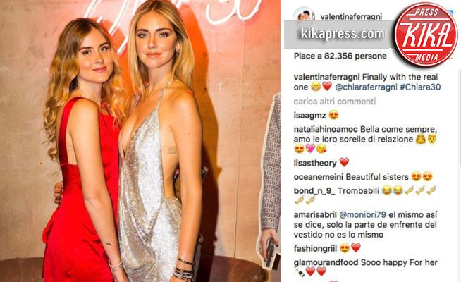 Valentina Ferragni, Chiara Ferragni - 15-05-2017 - Valentina Ferragni nuova star di Instagram: mi manda Chiara
