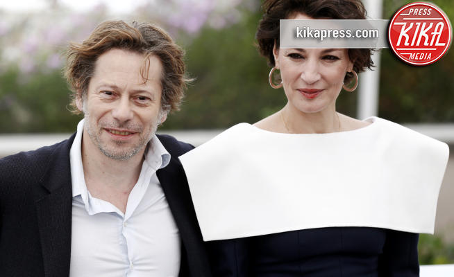 Matthieu Amalric, Jeanne Balibar - Cannes - 18-05-2017 - Cannes 2017: Mathieu Amalric presenta Barbara