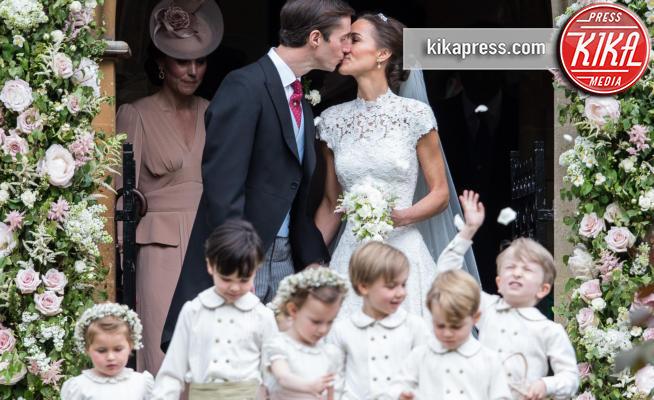 Principessa Charlotte Elizabeth Diana, Principe George, James Matthews, Kate Middleton, Pippa Middleton - Englefield - 20-05-2017 - Pippa Middleton si sposa: le foto della cerimonia