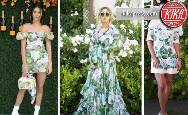 #DGortensia, Kendall Jenner, Miranda Kerr, Beyonce Knowles - 30-06-2017 - Il fiore dell'estate? L'ortensia, quella di Dolce & Gabbana