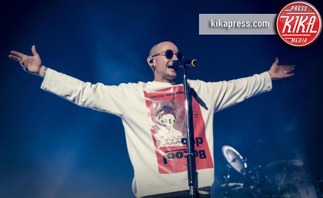 Chester Bennington, Linkin Park - Londra - 04-07-2017 - Lutto nella musica, suicida Chester Bennington dei Linkin Park