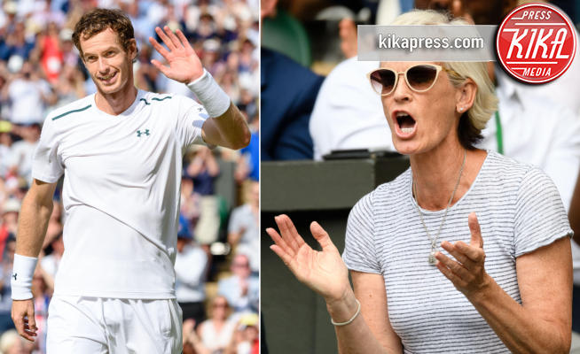 Judy Murray, Andy Murray - Londra - 10-07-2017 - La tifosa numero uno di Andy Murray è... sua mamma!