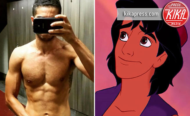 Mena Massoud, Aladdin - Hollywood - 13-01-2017 - Tatuato e muscoloso: ecco il nuovo Aladdin!