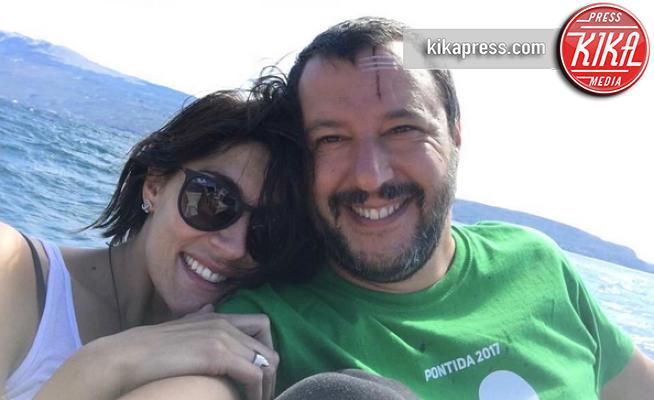 Matteo Salvini, Elisa Isoardi - Modena - 02-07-2017 - Isoardi - Salvini: le rivelazioni della conduttrice