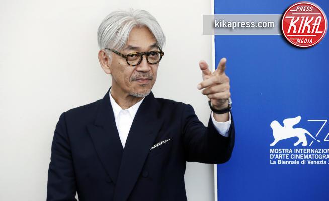 Ryuchi Sakamoto - Venezia - 03-09-2017 - Venezia 74, tutti in... Coda per Ryuichi Sakamoto