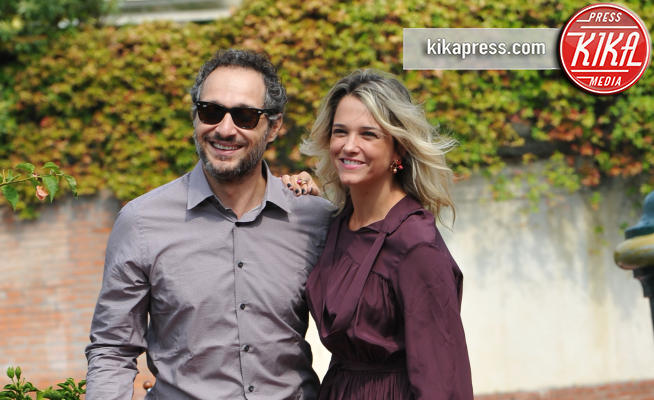 Francesca Barra, Claudio Santamaria - Venezia - 06-09-2017 - Claudio Santamaria e Francesca Barra: denunciamo gli haters