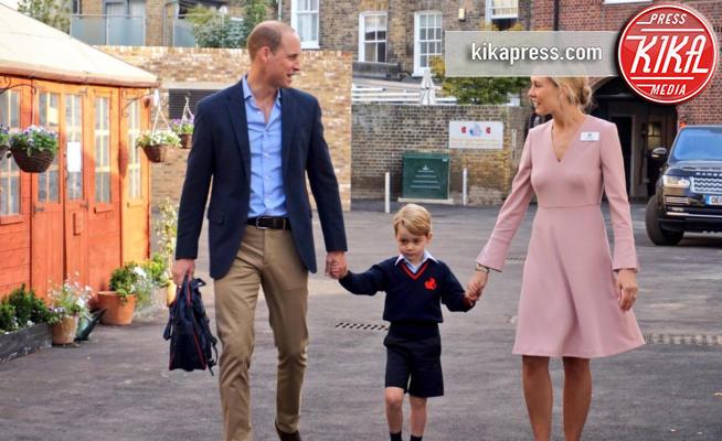 Principe George, Principe William - Londra - 07-09-2017 - Baby George, è arrivato il suo primo giorno di scuola!