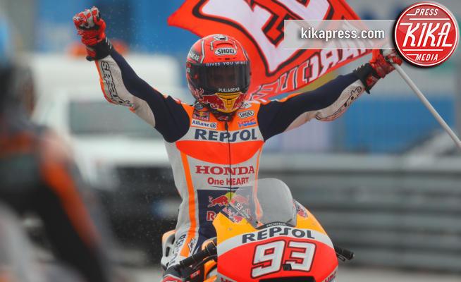 Marc Marquez - Misano Adriatico - 10-09-2017 - MotoGp: a Misano vince Mrquez all'ultima curva