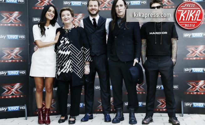 Levante, Fedez, Alessandro Cattelan, Mara Maionchi, Manuel Agnelli - Milano - 13-09-2017 - X Factor 11: ecco tutte le novità del talent Sky