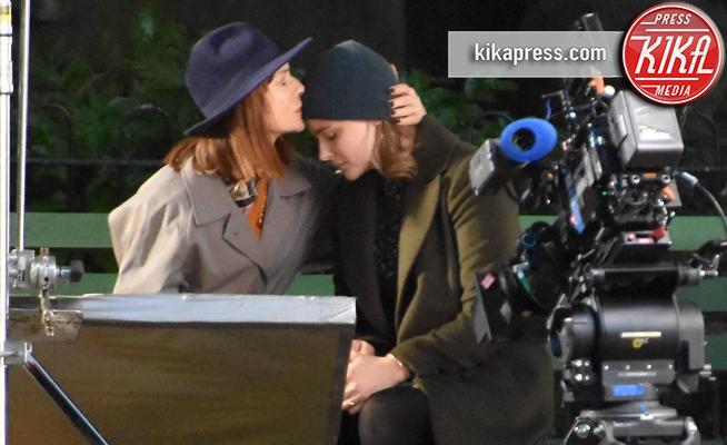 Chloe Grace Moretz, Isabelle Huppert - Dublino - 14-09-2017 - Isabelle Huppert-Chloe Grace Moretz: che coppia per The Widow
