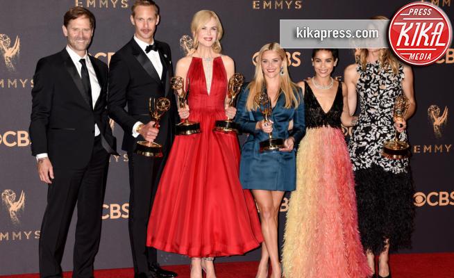 Jeffrey Nordling, Alexander Skarsgard, Zoe Kravitz, Laura Dern, Reese Witherspoon, Nicole Kidman - Los Angeles - 17-09-2017 - Emmy 2017: trionfa The Handmaid's Tale