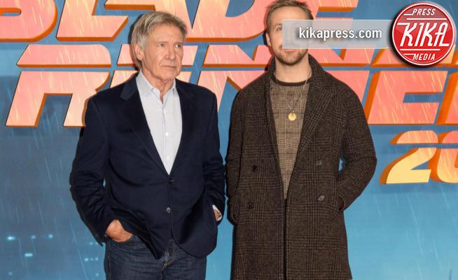 Ryan Gosling, Harrison Ford - Londra - 21-09-2017 - Blade Runner, premiere annullata per le vittime di Las Vegas