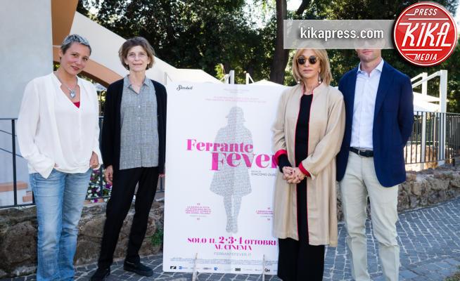 Ann Goldstein, Laura Buffoni, Giacomo Durzi, Anna Bonaiuto - Roma - 21-09-2017 - Ferrante Fever: arriva il docufilm su Elena Ferrante