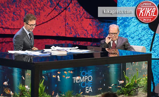 Fabio Fazio, Ennio Morricone - Milano - 24-09-2017 - Perché i vegani ce l'hanno tanto con Fabio Fazio