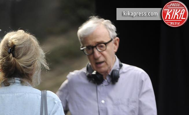 Woody Allen - New York - 26-09-2017 - Woody Allen, le prime immagini sul set del nuovo film