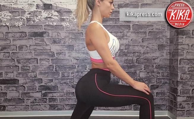 Diletta Leotta - Milano - 05-10-2017 - Diletta Leotta & co: l'outfit perfetto per il fitness